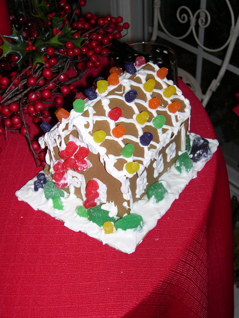 Cameron's gingerbread house