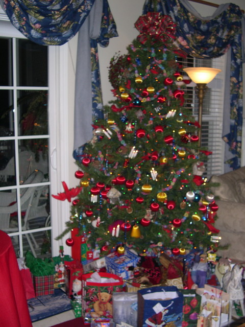 Another view of the Christmas tree
