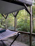 the lower deck, with a nice big hammock