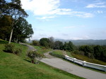 the view from Cone Manor on the Blue Ridge Parkway