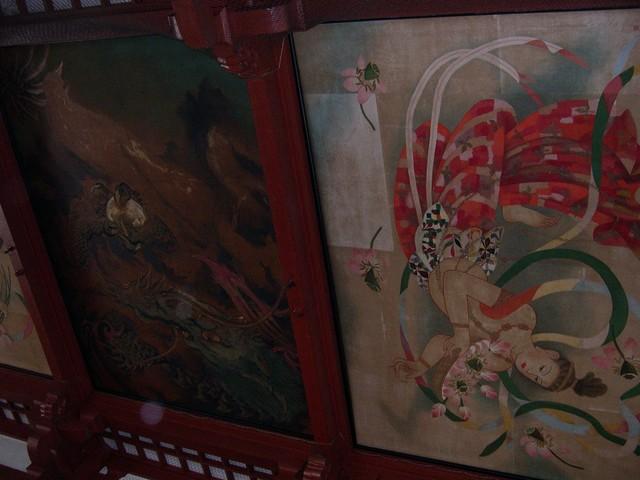 Ceiling inside Senso-Ji Temple