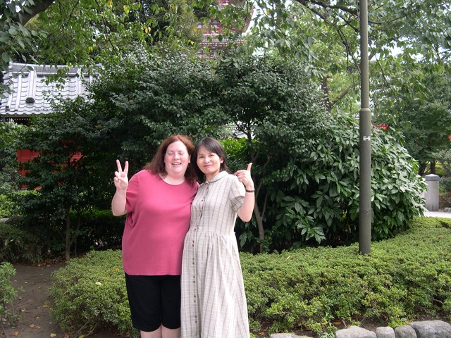 Cynthia and Yoshiko