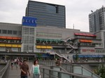 Decks mall in Odaiba