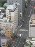 Our hotel - Tokoyo-Inn (on left)