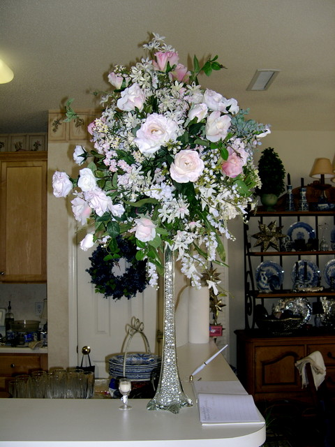Topiary arrangement Cynthia's mom made