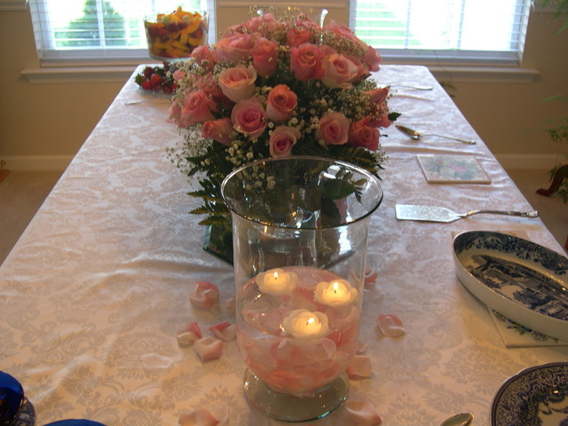 More roses and candles