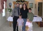 Ben, Cynthia, Cameron, Scott, and Stephanie (and kitty!)