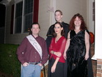 Cam (Miss Canada), Holly (Goth chick), Tim (medieval vampire), Kelley (Medusa)