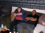 Chris and Jeff, out cold